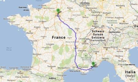 París - Niza en coche