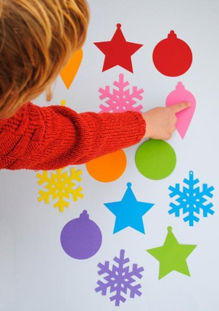 Recortables para adornar el árbol de Navidad
