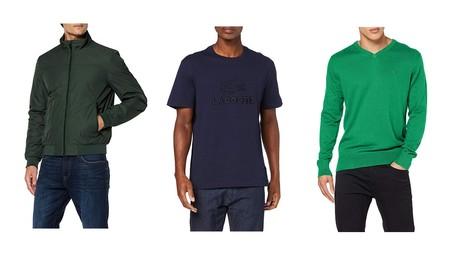 Chollos en tallas sueltas de jerseys, sudaderas, polos o chaquetas de marcas como Tommy Hilfiger, Lacoste, Levi's o Geox en Amazon