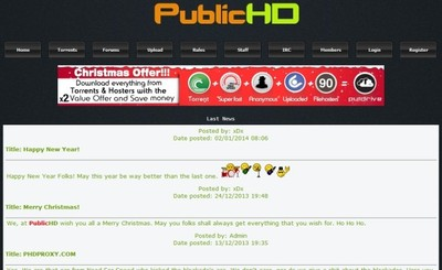 PublicHD aparece offline ¿qué le ha pasado?