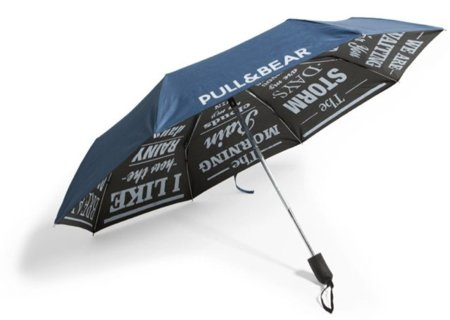Paraguas print de Pull & Bear