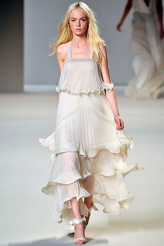 chloe vestido blanco