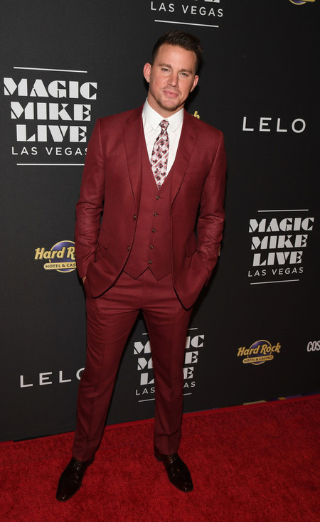 Channing Tatum Se Vistio De Invierno En Plena Primavera Para La Premiere De Magic Mike En Las Vegas
