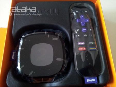 Roku 2 mando caja