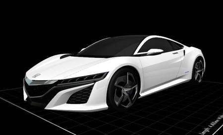 Honda NSX Concept 3D