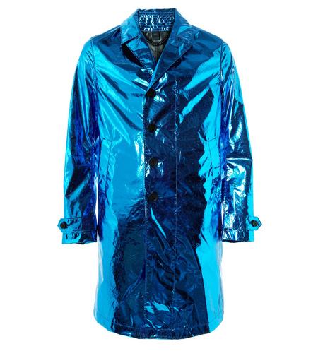 Burberry metalic trench coat