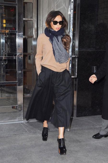 Victoria Beckham culotte