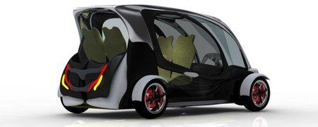 E1 Ecodrive: prototipo de taxi eléctrico diseñado para ser conducido por minusválidos