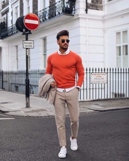 El Mejor Street Style De La Semana El Naranja Se Impone Como El Color De Transicion De Temporada 04