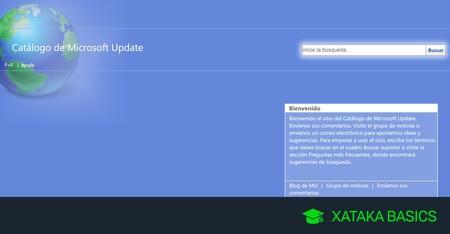 Cómo descargar e instalar a mano una actualización concreta de Windows 10