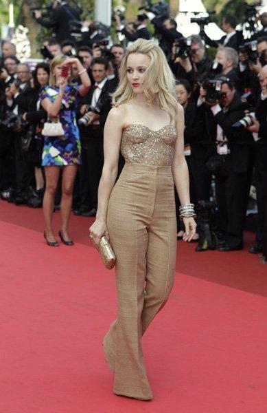 Premiere de Sleeping Beauty en el Festival de Cannes: triunfa el blanco