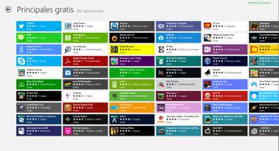 Windows Store supera las 50.000 aplicaciones