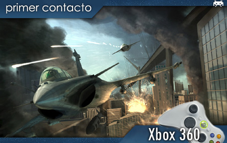 'Tom Clancy's H.A.W.X.', primer contacto