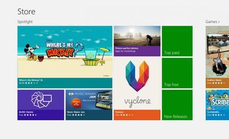 Windows 8 alcanzará mañana las 100.000 apps disponibles en Windows Store