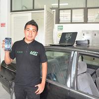 Estudiantes queretanos crean sistema que permite controlar autos desde un smartphone