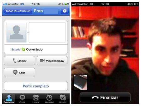 Skype 3.0 para iPhone ya disponible con videollamada Wi-Fi y 3G. Primeras impresiones.