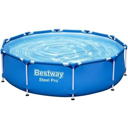 Bestway Piscina Steel Pro 305x76 Cm Azul