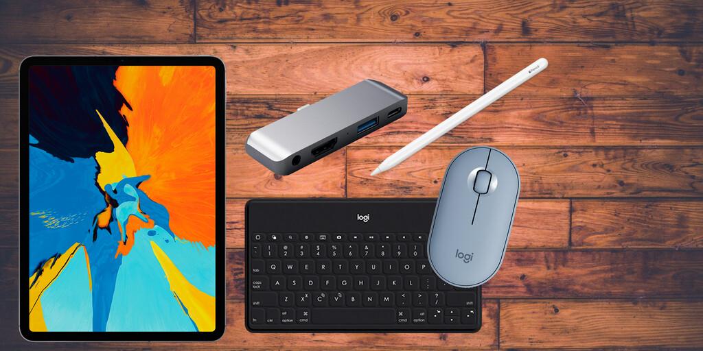 Haz de tu iPad un dispositivo productivo: 22 accesorios con los que trabajar más y mejor con la tableta de Apple