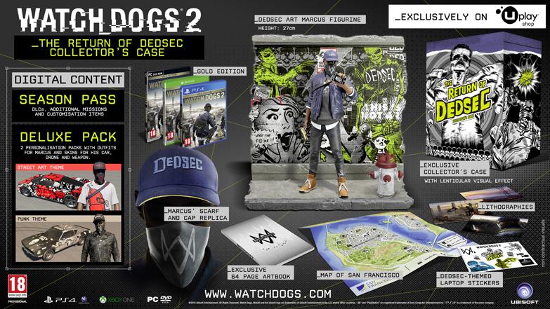 Foto de Ediciones de Watch Dogs 2 (1/5)