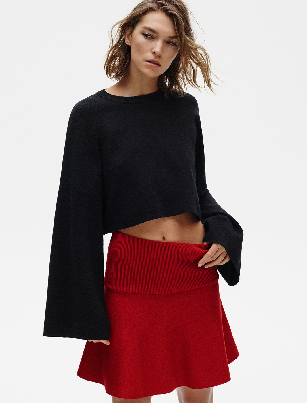 Zara editorial knit 2017