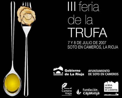 III Feria de la Trufa de La Rioja