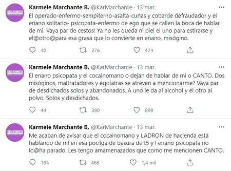 Karmele Marchante Twitter