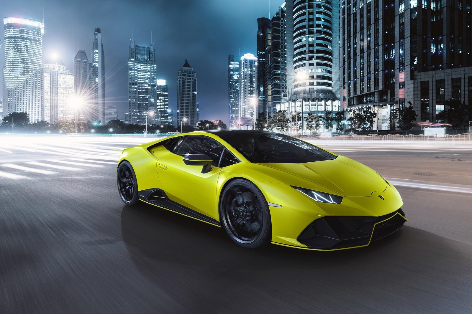 Foto de Lamborghini Huracán EVO Fluo Capsule (21/26)