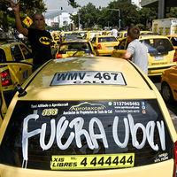 Grupo de taxistas en Colombia se declara en crisis por culpa de Uber