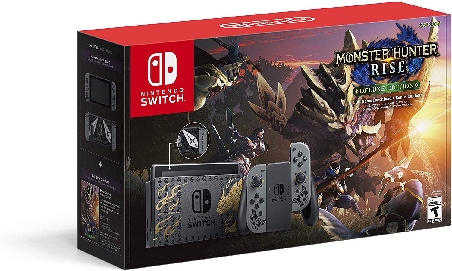Nintendo Switch - Monster Hunter Rise Deluxe Edition