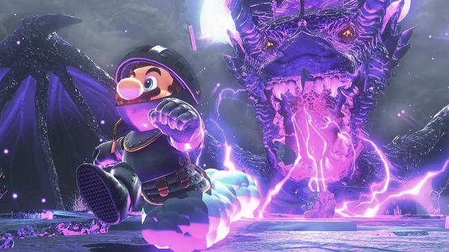 Super Mario Odyssey Dark Souls 02