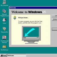 Descubren un curioso huevo de Pascua oculto en Windows 95 por casi 25 años