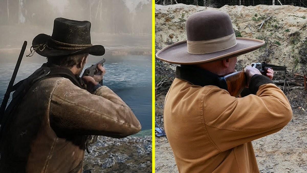 Compara tú mismo cómo lucen y suenan las armas de fuego de Red Dead  Redemption 2 frente a las reales bb288509968