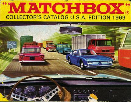 Juegos del pasado: catálogo de Matchbox de 1969