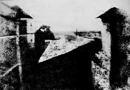 View From The Window At Le Gras Joseph Nicephore Niepce