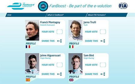 FanBoost, el invento de la Fórmula E para involucrar a los aficionados