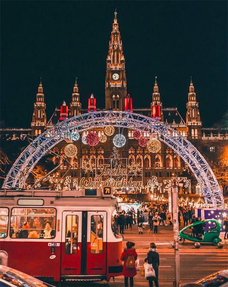 Viena Ciudades Europeas Con Mas Luces En Navidad