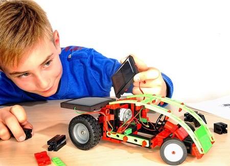 Juego Educativo Para Experimentar Con Energia Renovable Y Construir 14 Modelos Diferentes