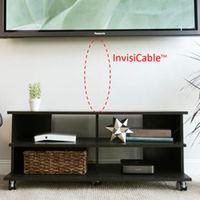 Inneos InvisiCable transforma tus gruesos cables HDMI en finos hilos de fibra óptica que pasará desapercibida en el salón