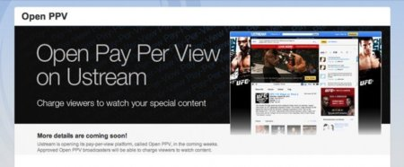 Ustream ofrecerá servicios de Pago Por Visión y vídeo sin publicidad