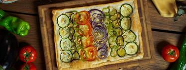 Coca de verduras, una cena fácil y muy rápida para toda la familia