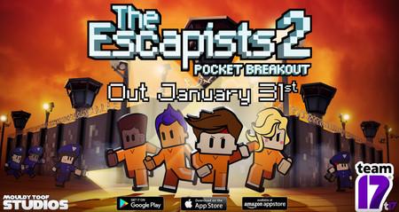 'The Escapists 2: Fuga de bolsillo', el nuevo juego de los creadores de Worms, llegará a iOS y Android el 31 de enero