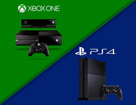El PS4 sigue a la cabeza de ventas respecto al Xbox One, aunque aún no triunfa