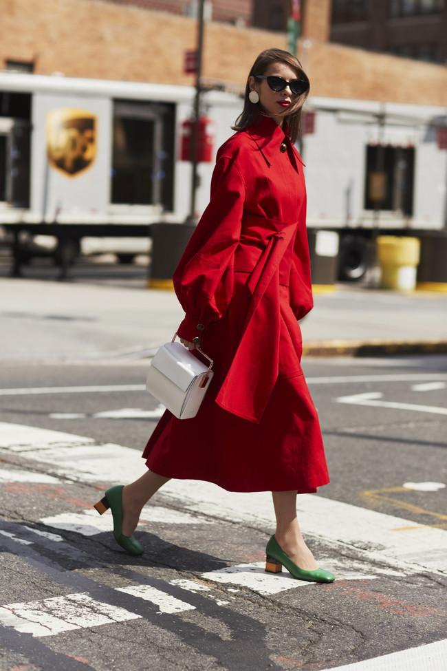 street style rojo san valentin