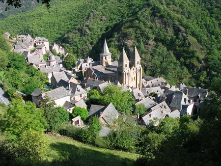 Conques, en Midi Pyrenées