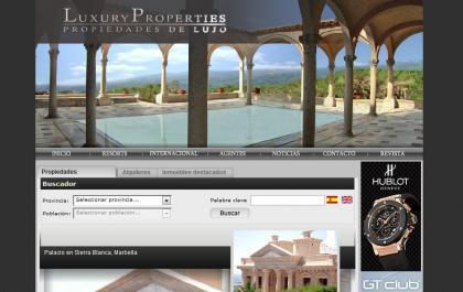 Buscar una vivienda de lujo en internet: Luxury Properties