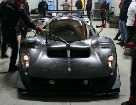 El Ferrari P4/5 Competizione sigue con su desarrollo