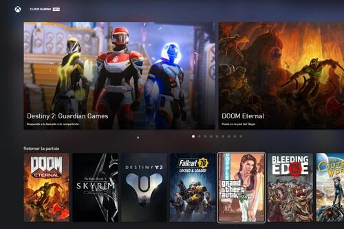 Probamos Xbox Cloud Gaming en Windows 10: el juego en la nube de Microsoft pisa fuerte, pero con mucho que mejorar en el navegador