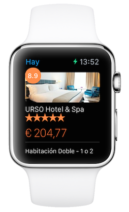 Booking Apple Watch