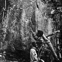México recupera grabado olmeca que fue robado hace más de 40 años y lo exhibirá en el Museo Nacional de Antropología
