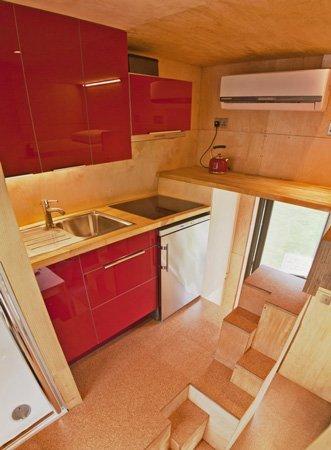 9 metros muy bien aprovechados - cocina